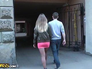 Ex girlfriend in casual teen fuck-fest