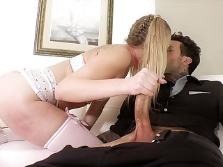 Sexy playful GF Adira Allure loves being poked doggy style