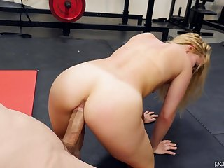 Boxing coach gets to fuck Lilly Lit after a good workout