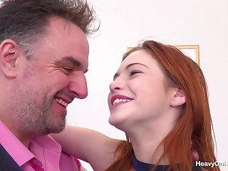 Big Bust 18yrs Redhead Porn Video