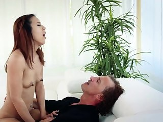 Dad teaches virgin ally' chum's daughter and nudist