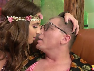 Girlfriend Amirah Adara loves to be ass licked during copulation