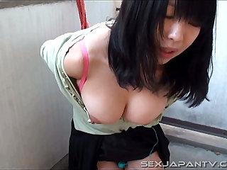 Bound And Big Boobs - SexJapanTV