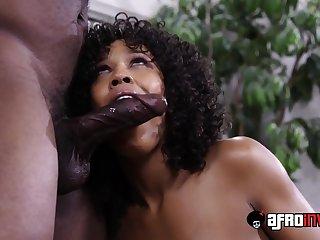 Ebony Misty Stone Gets Fornicateed
