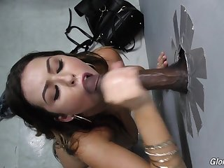 Melissa Moore is a nymph on a mission, and her mission is hefty, ebony jizz-shotgun. Just sight at her as this episode opens. She's decided. There's no wondering. There's no trepidness. She charges into an adult bookstore -- 1 with a mighty rep -- ambles