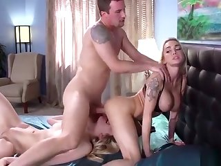 Cougar porn video featuring Alli Rae, Jessy Jones and Devon