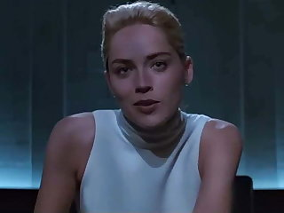 Sharon Stone -  Basic Instinct (Upskirt)