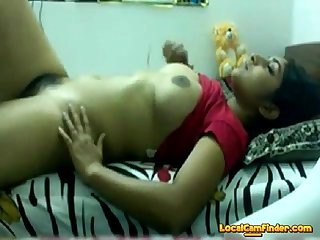 Desi teen playing with herself on webcam