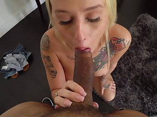 Kinky Family - Layla Love - Stepsis has a slurping pussy